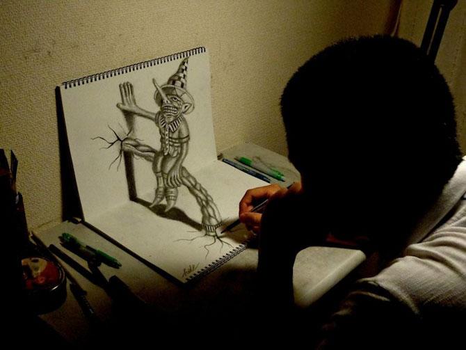 Desenele lui Nagai Hideyuki sar de pe pagina - Poza 9