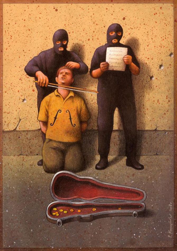 Caricaturi care dau de gandit, de Pawel Kuczynski - Poza 1