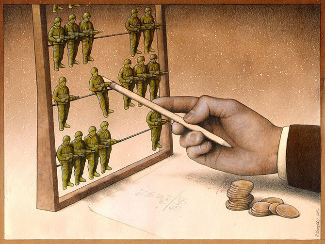 Caricaturi care dau de gandit, de Pawel Kuczynski