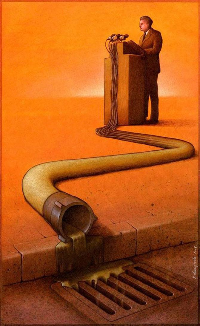 Caricaturi care dau de gandit, de Pawel Kuczynski - Poza 9
