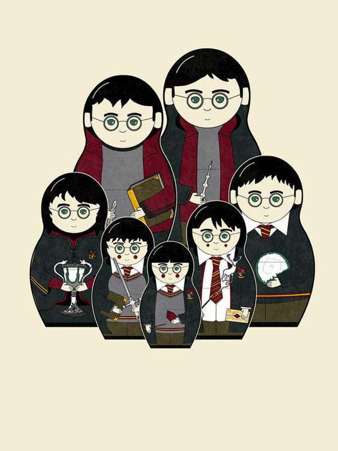 Teo Zirinis, de vorba cu Harry Potter si felia de pizza - Poza 1