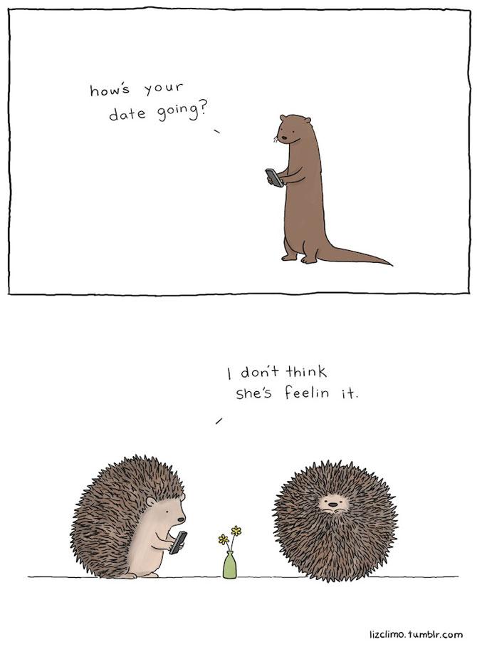 Ilustratii simpatice cu animale, de Liz Climo - Poza 9