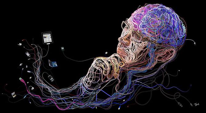 Ilustratii complexe din cabluri, de Charis Tsevis - Poza 4