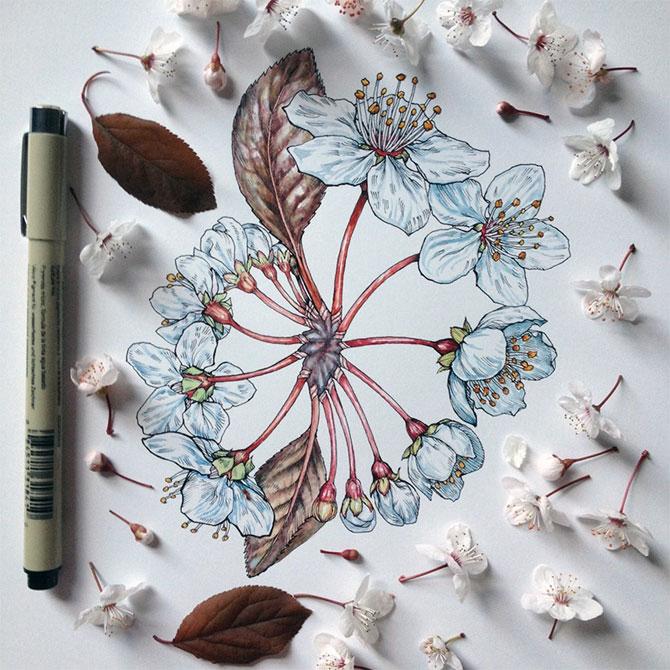 Flori imbobocite, de Noel Badges Pugh - Poza 1