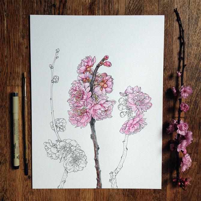 Flori imbobocite, de Noel Badges Pugh - Poza 3