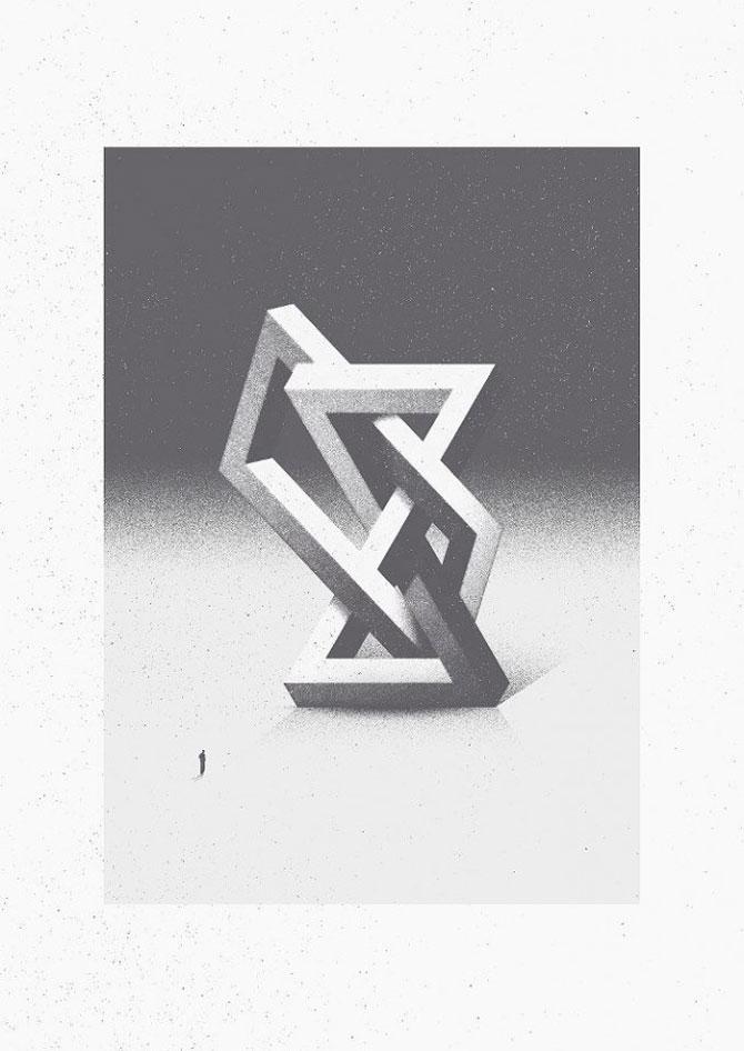 Ilustratori cu note mari la geometrie - Poza 1