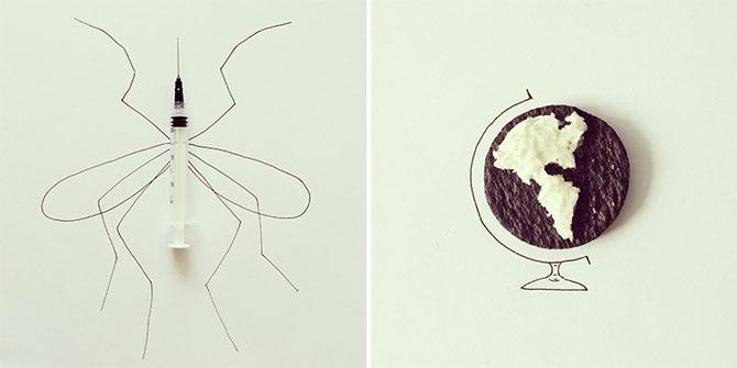 Desene creative din obiecte banale, de Javier Perez - Poza 2