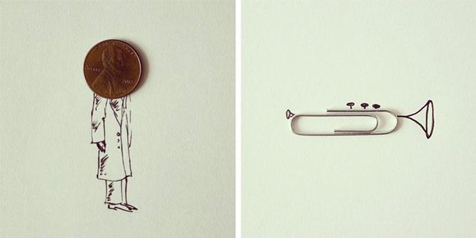 Desene creative din obiecte banale, de Javier Perez - Poza 4