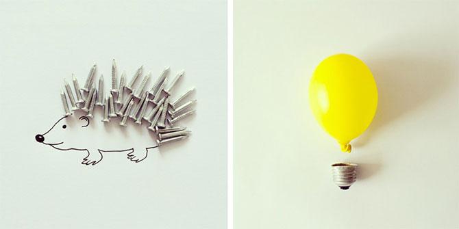 Desene creative din obiecte banale, de Javier Perez - Poza 6