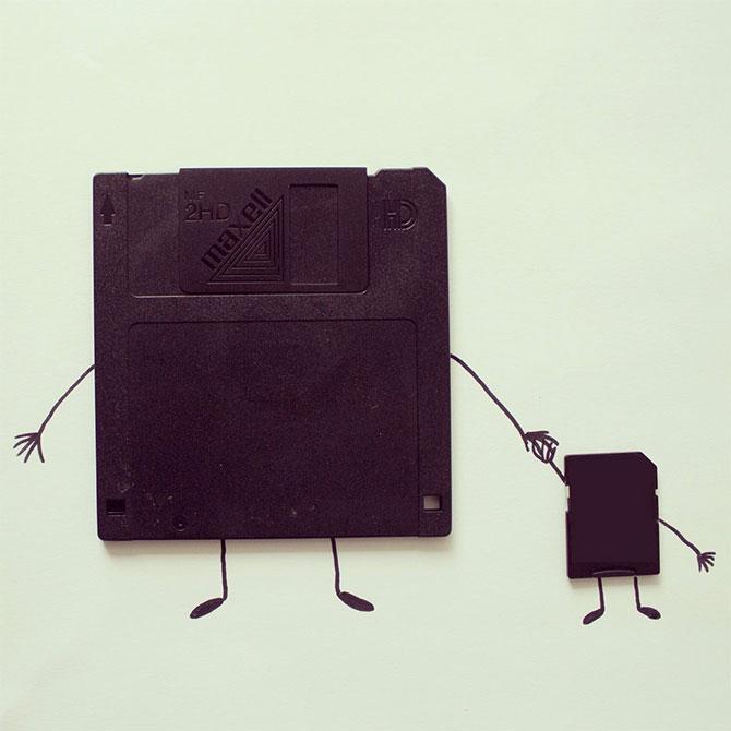 Desene creative din obiecte banale, de Javier Perez - Poza 7