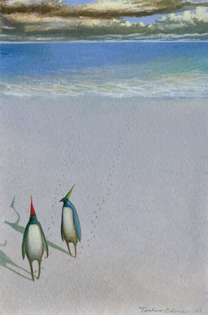Acuarele cu povesti, de Toshio Ebine - Poza 4