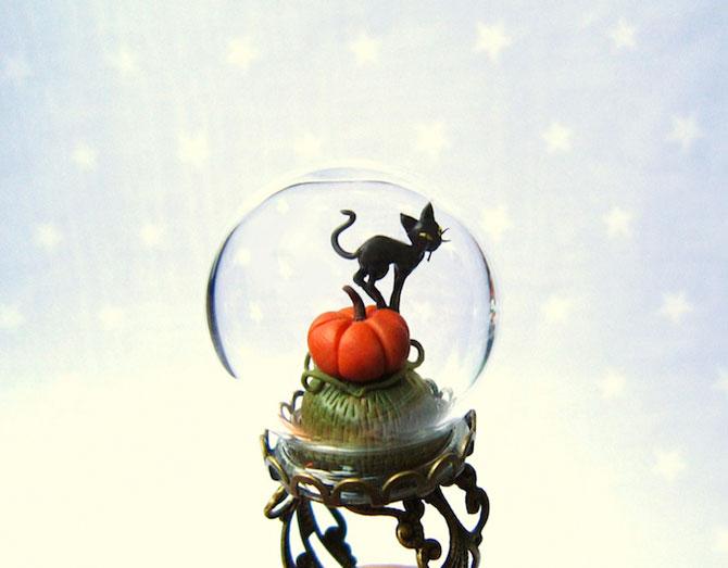 Inele-terariu pentru Halloween, de HoKiou - Poza 2