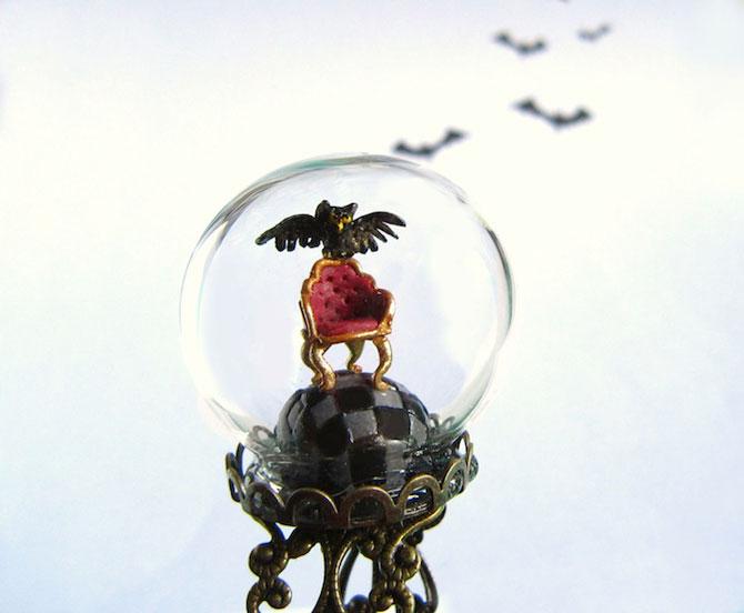 Inele-terariu pentru Halloween, de HoKiou - Poza 4