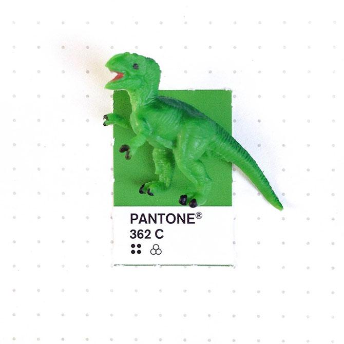 Perechi de culori Pantone si obiecte mici - Poza 1