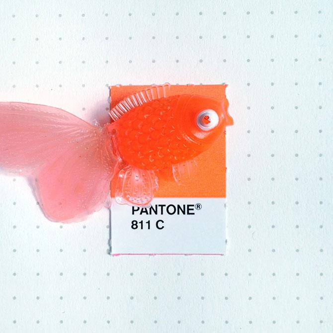 Perechi de culori Pantone si obiecte mici - Poza 6