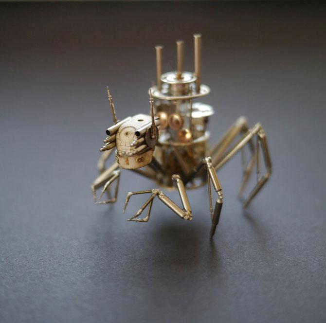 Insecte din ceasuri, de la A Mechanical Mind - Poza 2