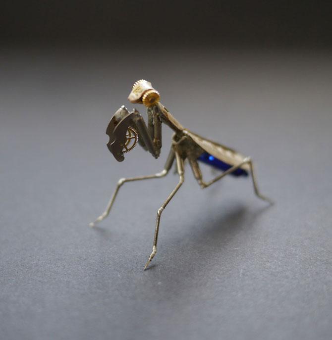 Insecte din ceasuri, de la A Mechanical Mind - Poza 3
