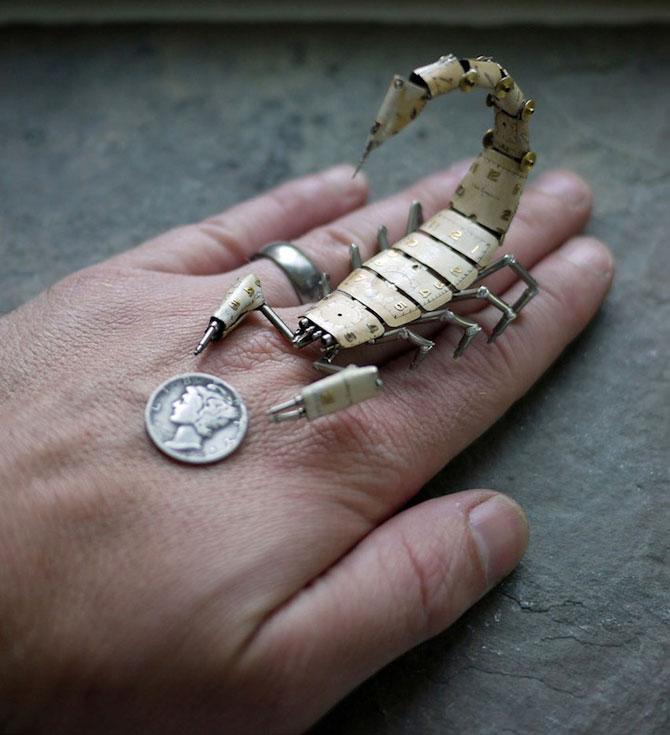 Insecte din ceasuri, de la A Mechanical Mind - Poza 4