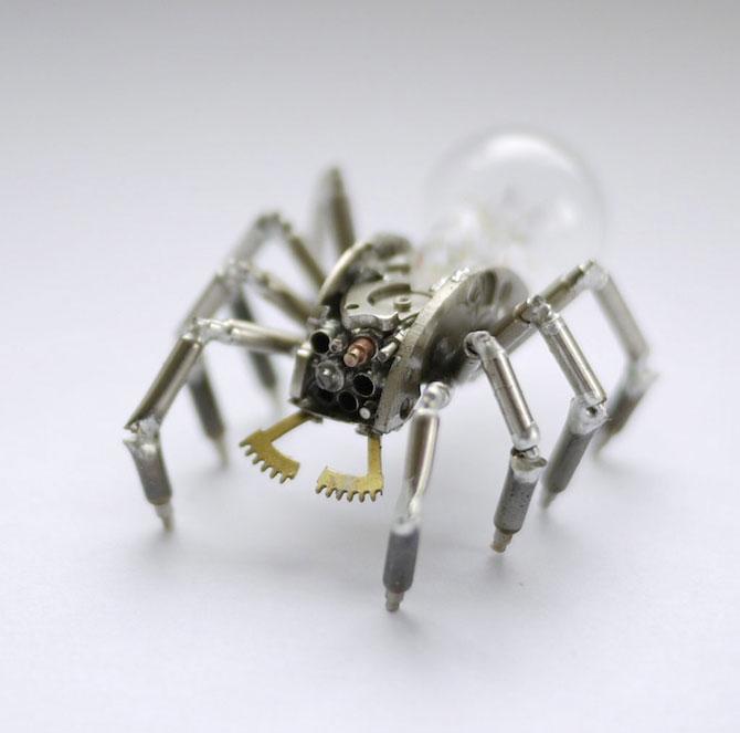 Insecte din ceasuri, de la A Mechanical Mind - Poza 6
