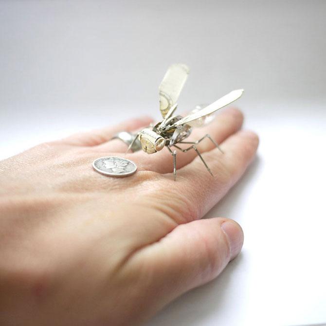 Insecte din ceasuri, de la A Mechanical Mind - Poza 7