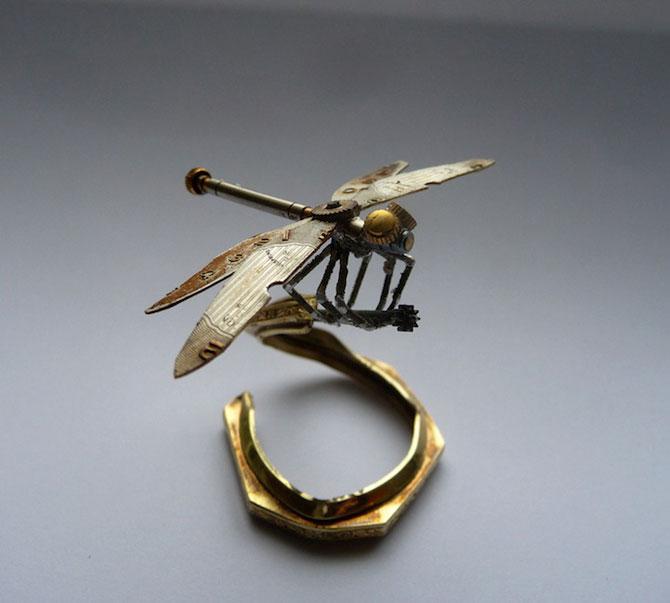 Insecte din ceasuri, de la A Mechanical Mind - Poza 8
