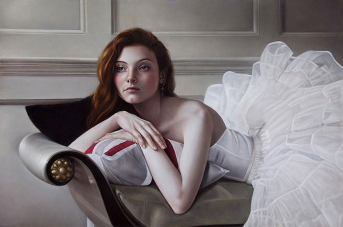 Hiper-realism si poezie, pictate de Mary Jane Ansell - Poza 1