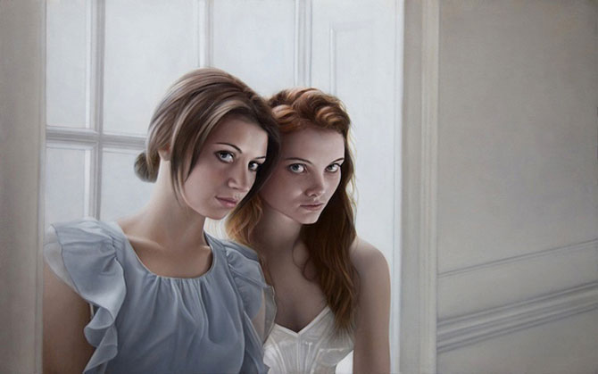 Hiper-realism si poezie, pictate de Mary Jane Ansell - Poza 3