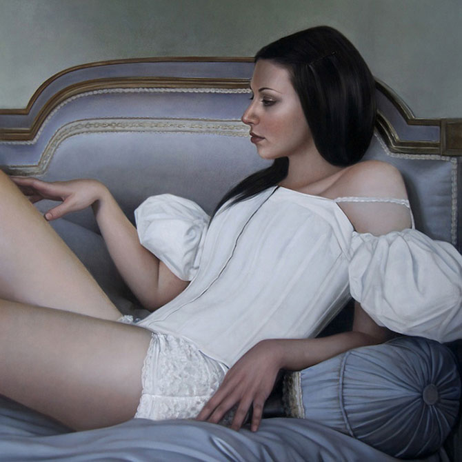 Hiper-realism si poezie, pictate de Mary Jane Ansell - Poza 4