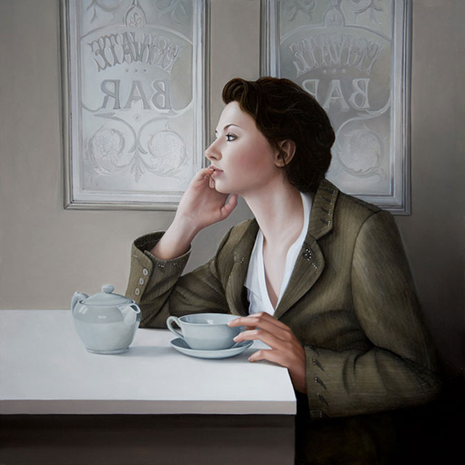 Hiper-realism si poezie, pictate de Mary Jane Ansell - Poza 6