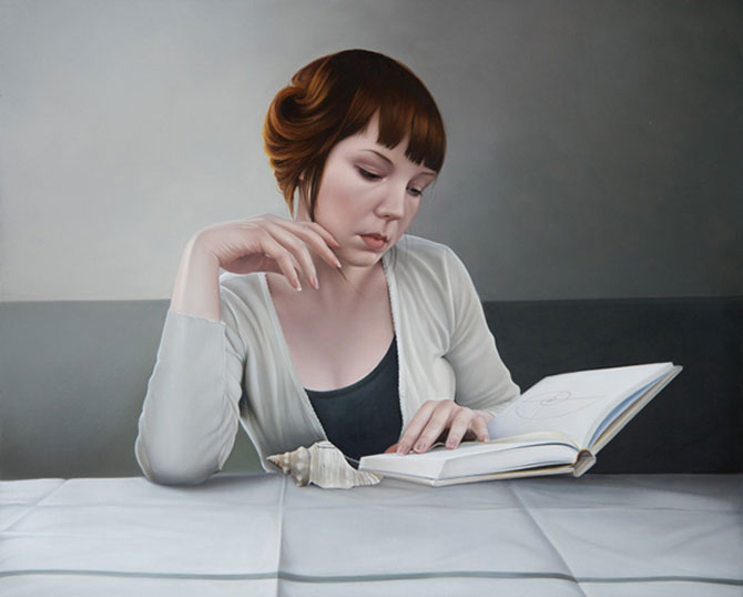 Hiper-realism si poezie, pictate de Mary Jane Ansell - Poza 7