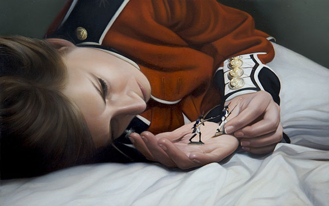 Hiper-realism si poezie, pictate de Mary Jane Ansell - Poza 8
