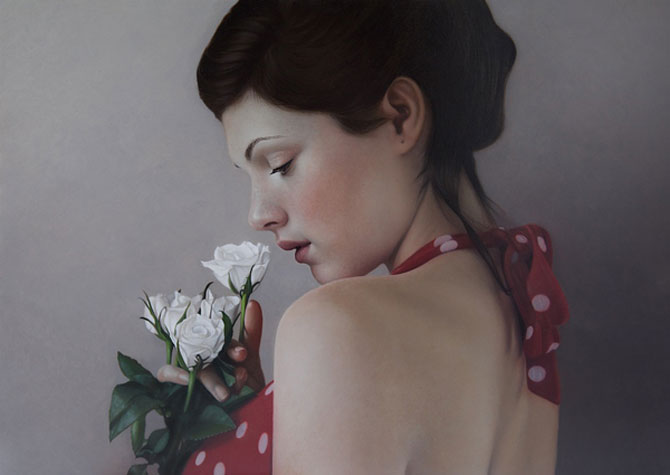 Hiper-realism si poezie, pictate de Mary Jane Ansell - Poza 9