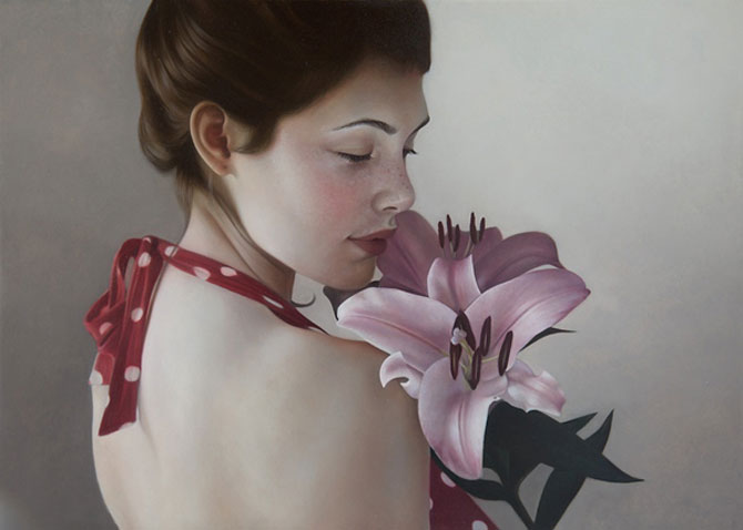 Hiper-realism si poezie, pictate de Mary Jane Ansell - Poza 10