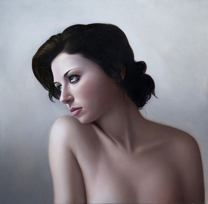 Hiper-realism si poezie, pictate de Mary Jane Ansell - Poza 12