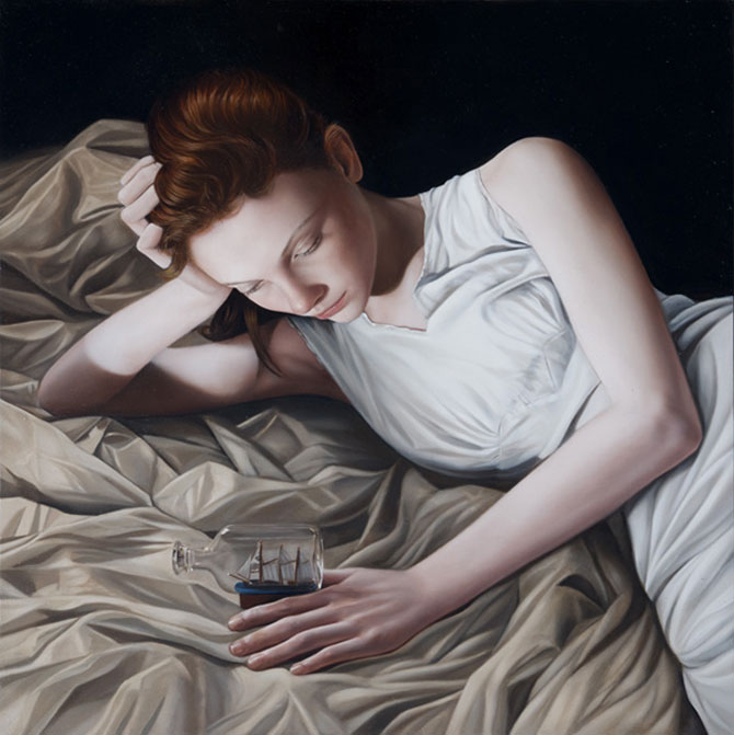 Hiper-realism si poezie, pictate de Mary Jane Ansell - Poza 15