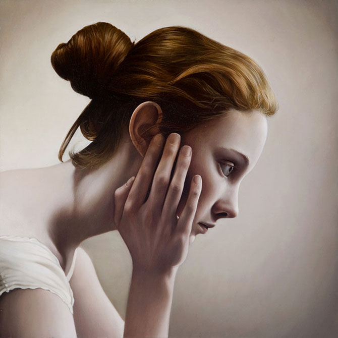 Hiper-realism si poezie, pictate de Mary Jane Ansell - Poza 17