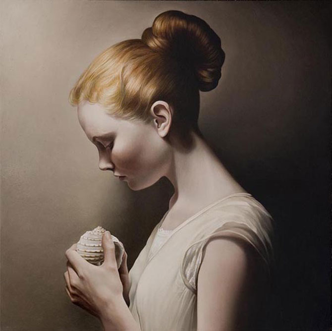 Hiper-realism si poezie, pictate de Mary Jane Ansell - Poza 18