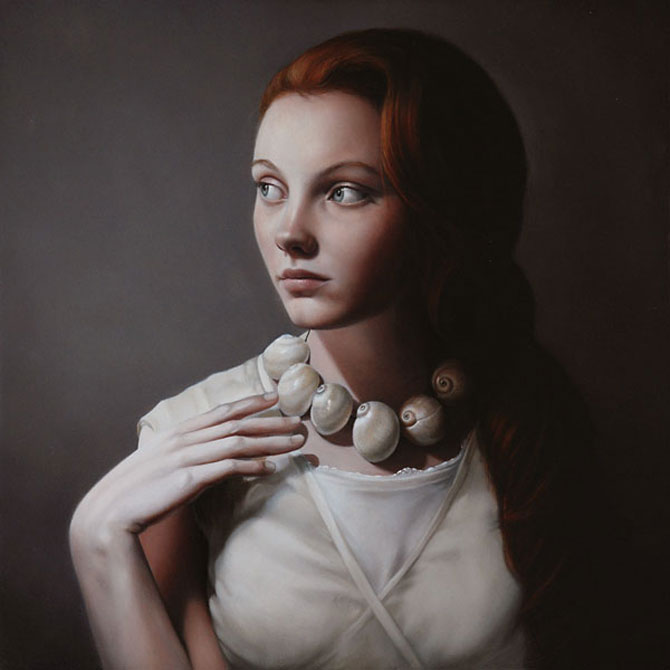 Hiper-realism si poezie, pictate de Mary Jane Ansell - Poza 19
