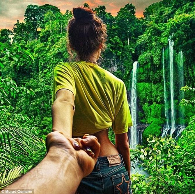 Murad Osmann si prietena lui, in jurul lumii - Poza 11