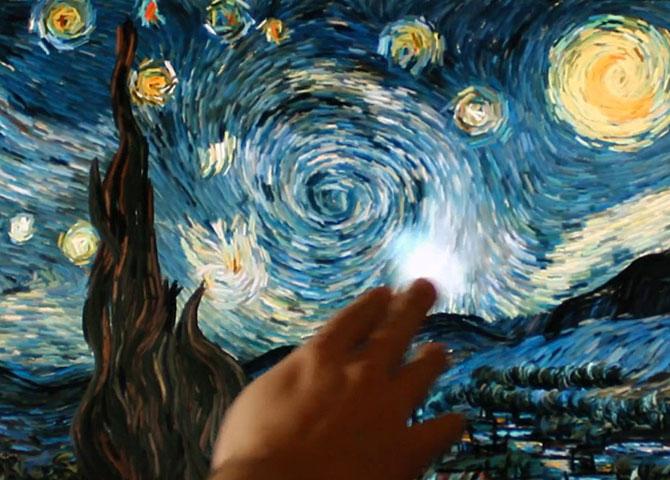 Un inginer grec animeaza Noaptea lui van Gogh - Poza 1