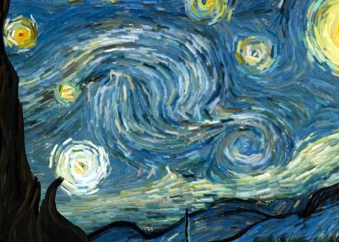Un inginer grec animeaza Noaptea lui van Gogh - Poza 2