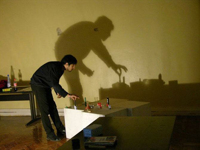 Rashad Alakbarov picteaza cu umbre - Poza 3