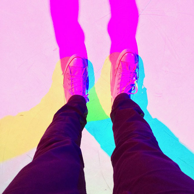 Lumina si culoare in instalatii de la Luftwerk - Poza 6