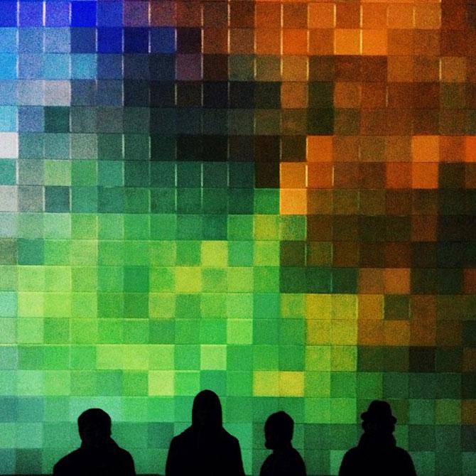 Lumina si culoare in instalatii de la Luftwerk - Poza 8