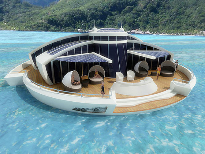 Incredibila insula plutitoare, de la MPD Designs - Poza 1