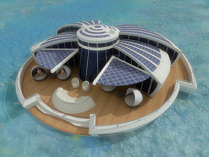 Incredibila insula plutitoare, de la MPD Designs - Poza 2