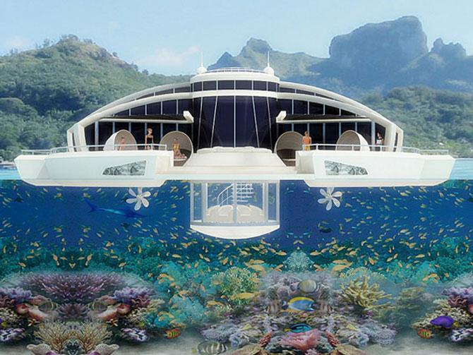 Incredibila insula plutitoare, de la MPD Designs - Poza 4