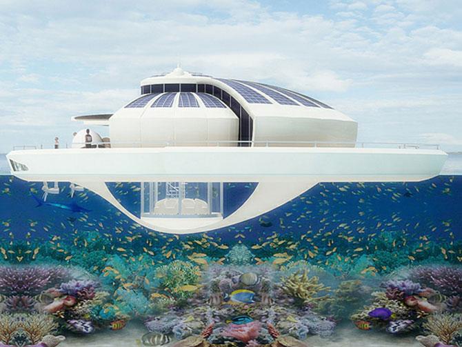 Incredibila insula plutitoare, de la MPD Designs - Poza 5