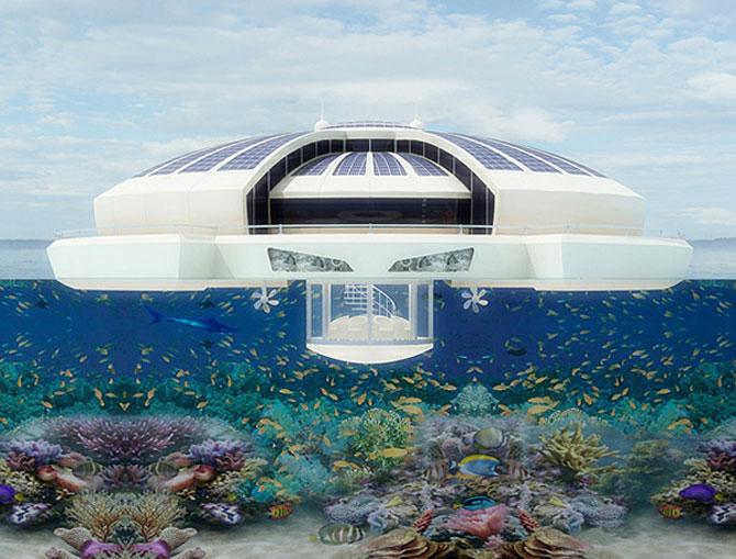Incredibila insula plutitoare, de la MPD Designs - Poza 6