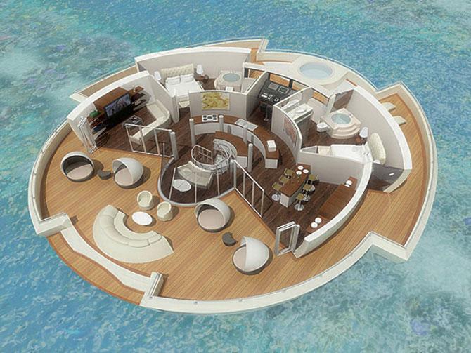Incredibila insula plutitoare, de la MPD Designs - Poza 7